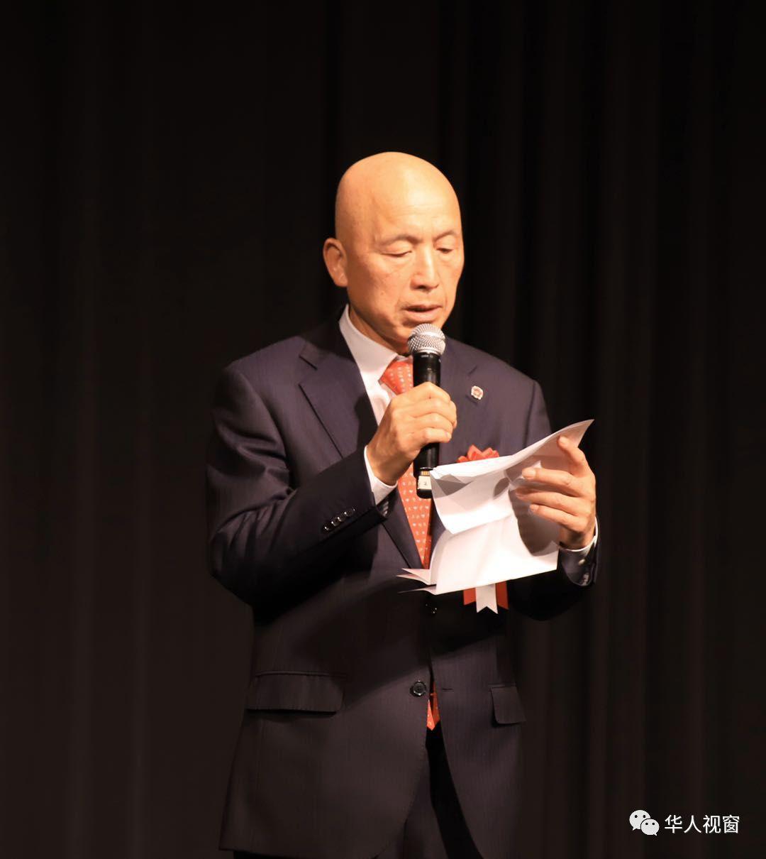专访 :「日本全华联」会长贺乃和